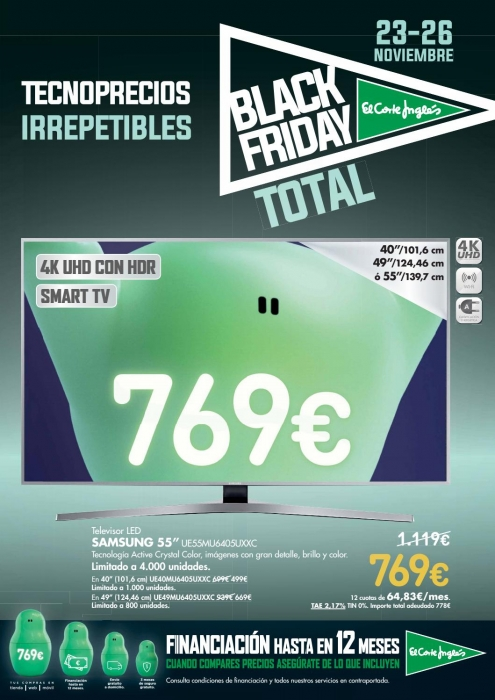 Black Friday 2017 en El Corte Ingles (1)