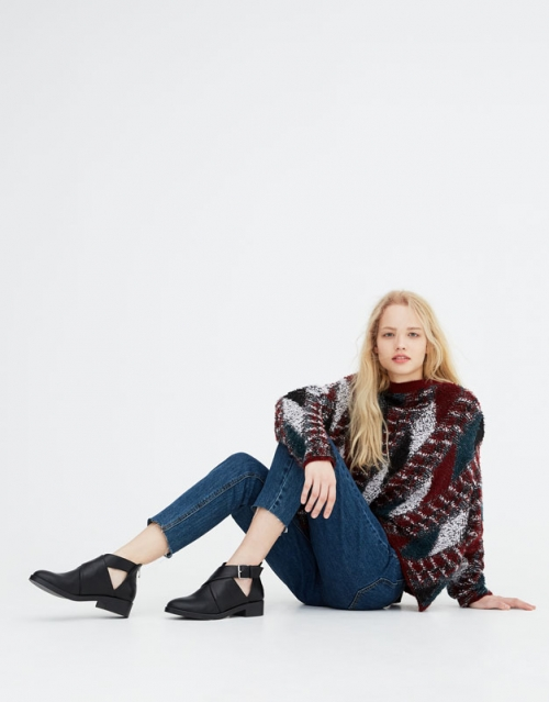 Botas invierno 2018. Catalogo Pull and Bear (1)