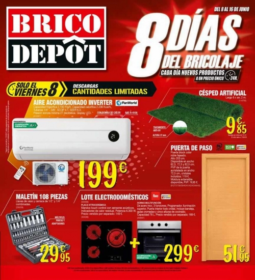 Cat logo brico depot en for Piscinas media markt