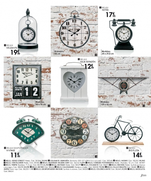 Reloj pared Conforama 2018 (1)