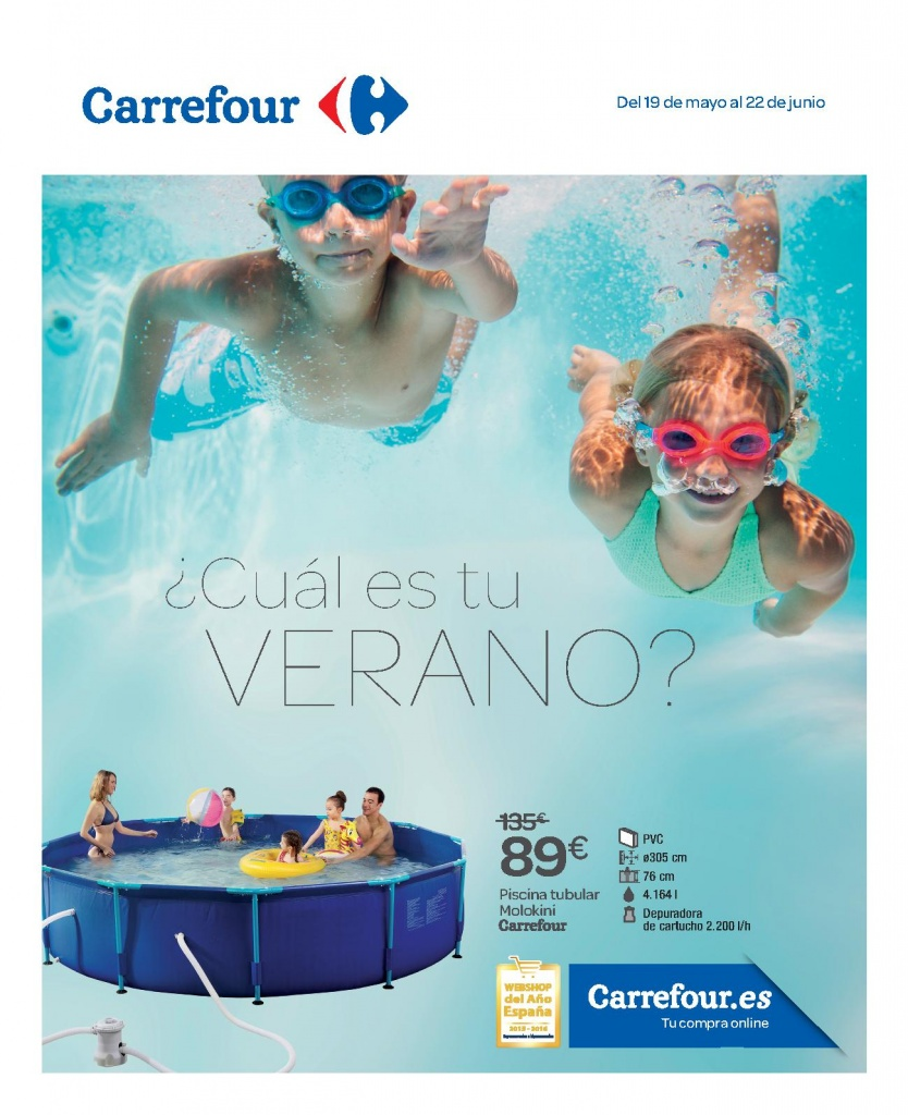 Cat logo piscinas carrefour 2017 precios ofertas for Piscinas eroski