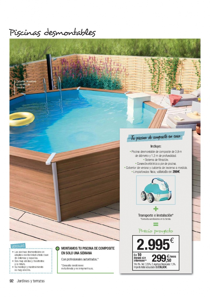 Cat logo piscinas leroy merlin 2018 precios ofertas for Ofertas piscinas desmontables