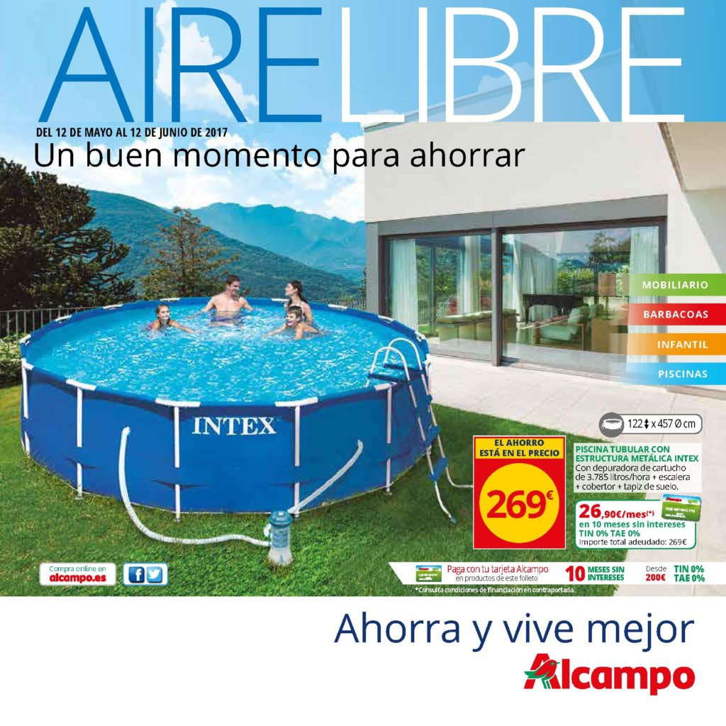 Cat logo piscinas alcampo 2018 precios ofertas for Piscinas bricoking