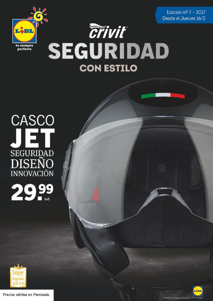 Cat logo lidl jueves 16 febrero 2017 casco moto for Lidl catalogo ofertas