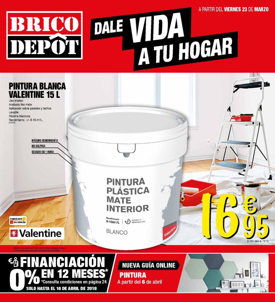 Folleto brico depot 2018 precios ofertas catalogosdetiendas for Piscinas media markt
